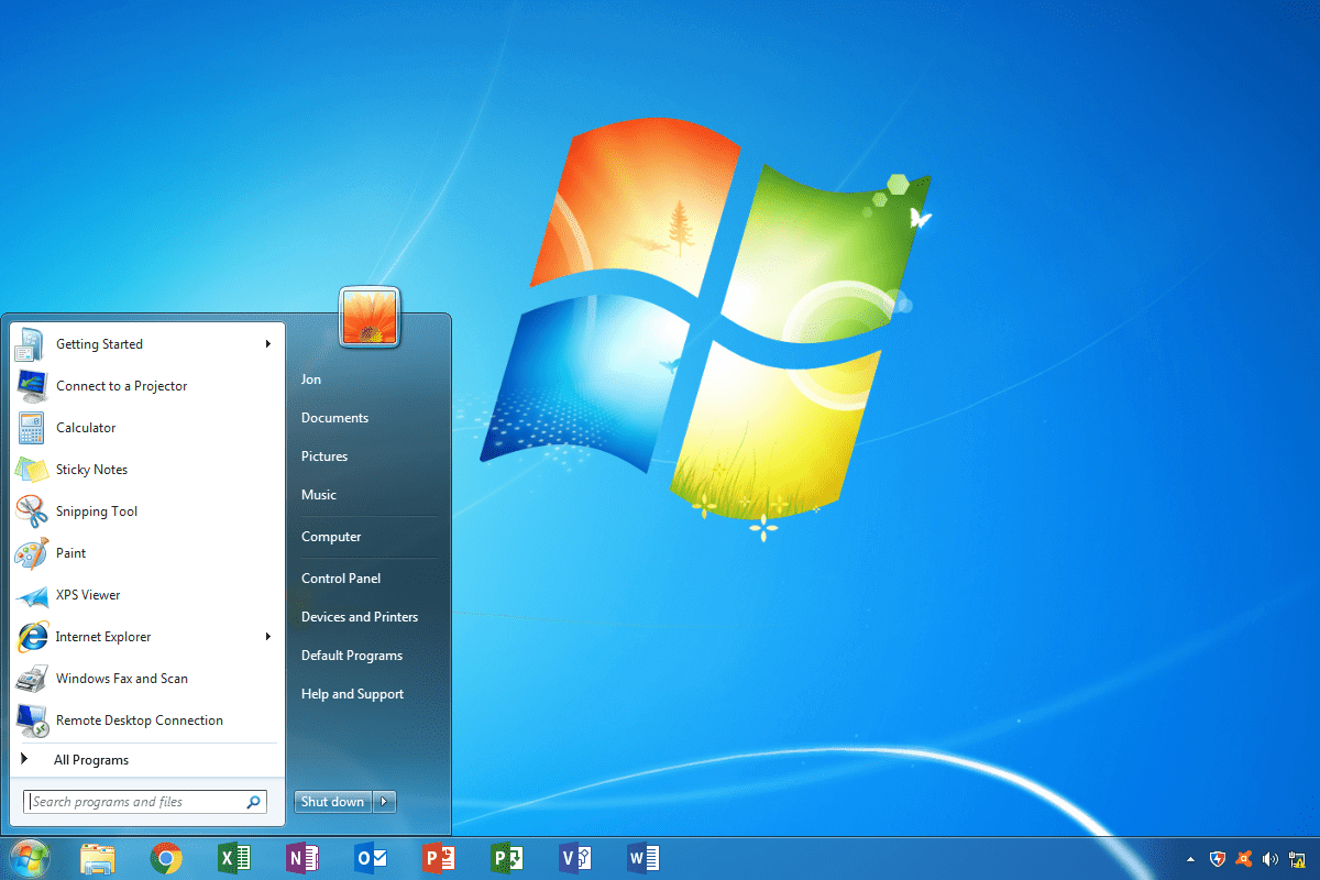 como se que windows tengo - windows 7