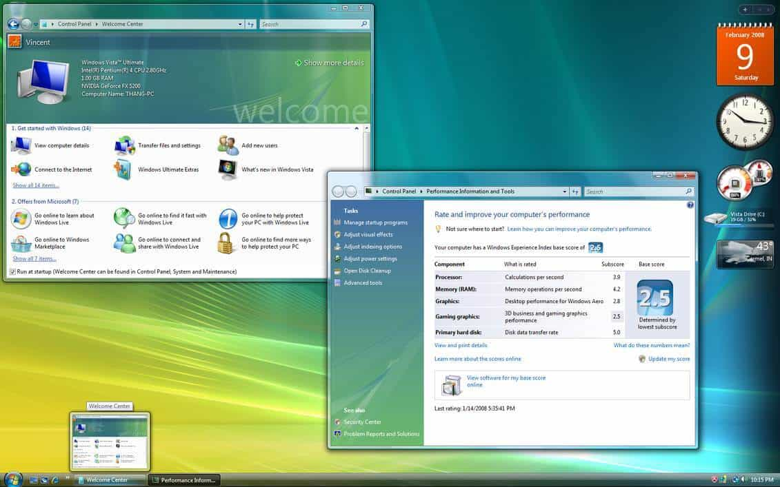 como se que windows tengo - windows vista