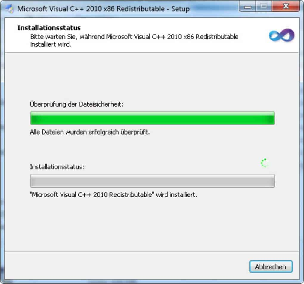 error 0xc00007b libreria microsoft c++