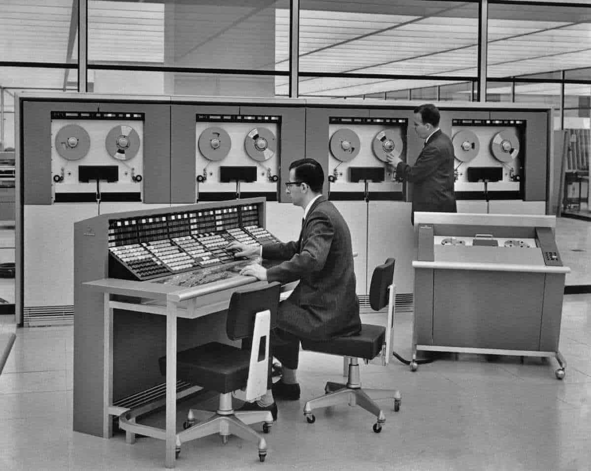 tipos de computadoras - computadora central mainframe