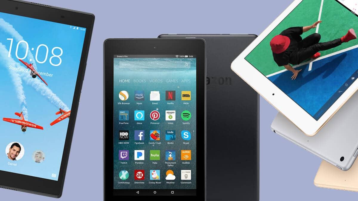 tipos de computadoras - tablets