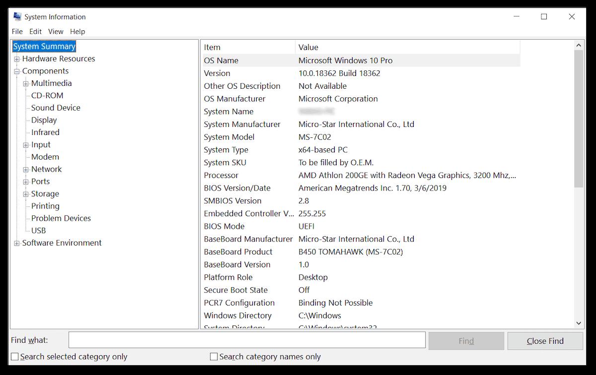 como saber el modelo de mi laptop información del sistema