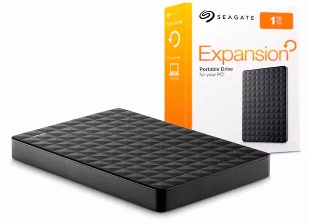 disco duro externo 1tb - seagate stea1000400