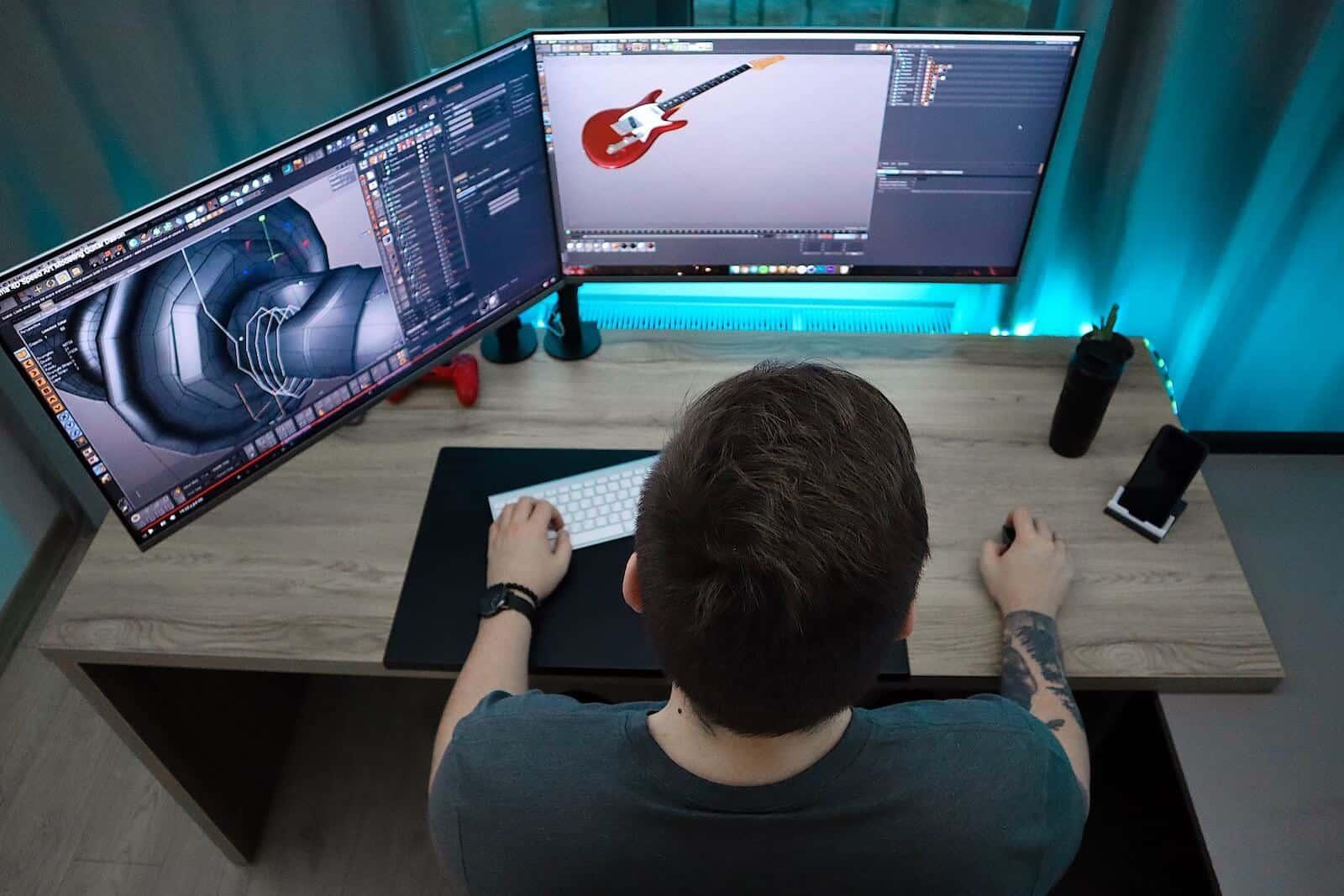 tipos de monitores led