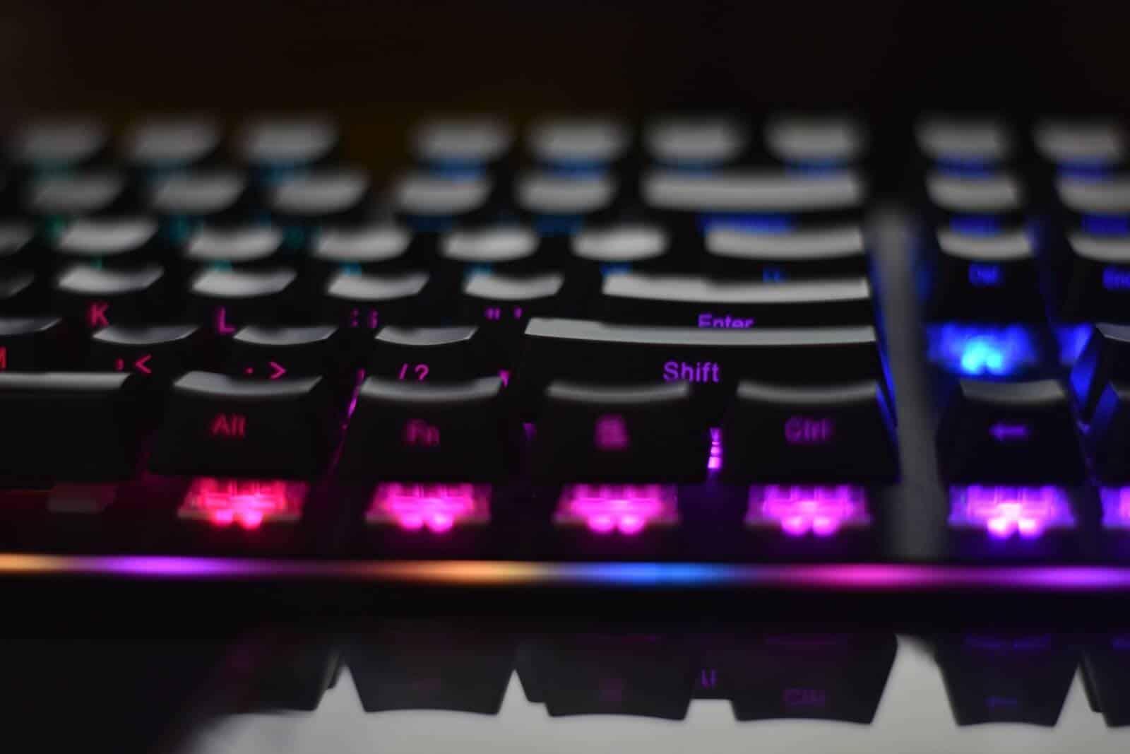 tipos de teclado gamer