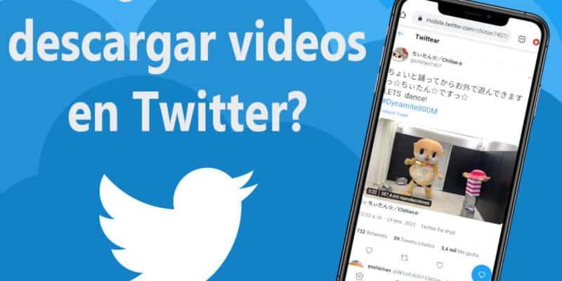 Descargar videos de Twitter - Móvil