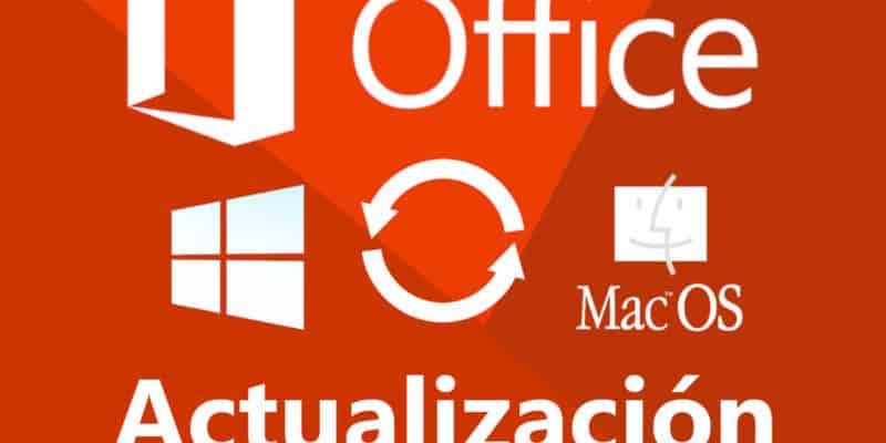 Actualizar Office - Windows y Mac