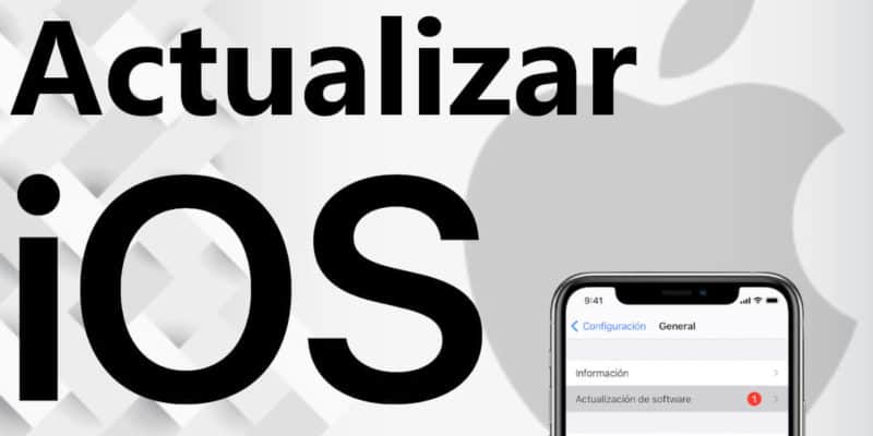 Actualizar iOS - iPhone y iPad