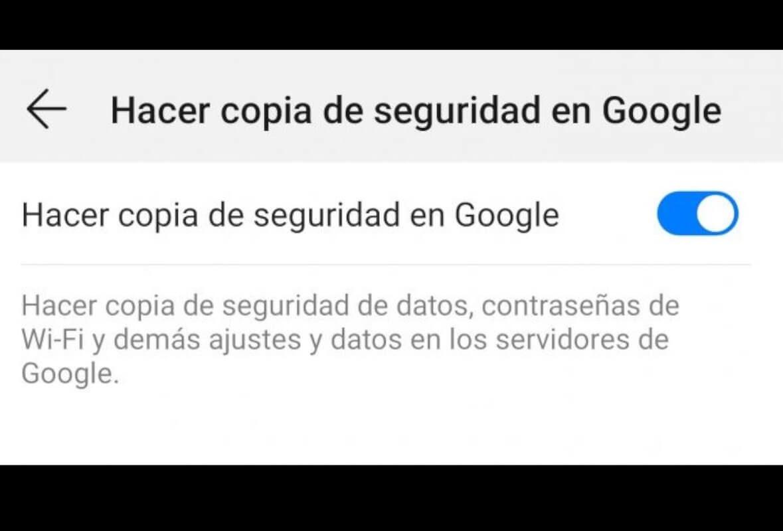 Actualizar Android - copia de seguridad
