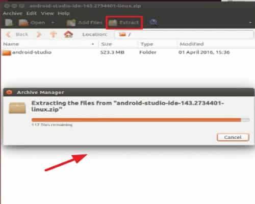 Cómo instalar Android Studio - Instalar Android Studio para Linux - paso 1