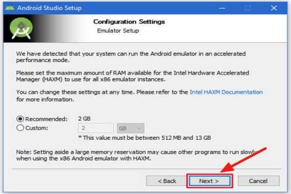 Cómo instalar Android Studio - Instalar Android Studio para Mac - paso 2