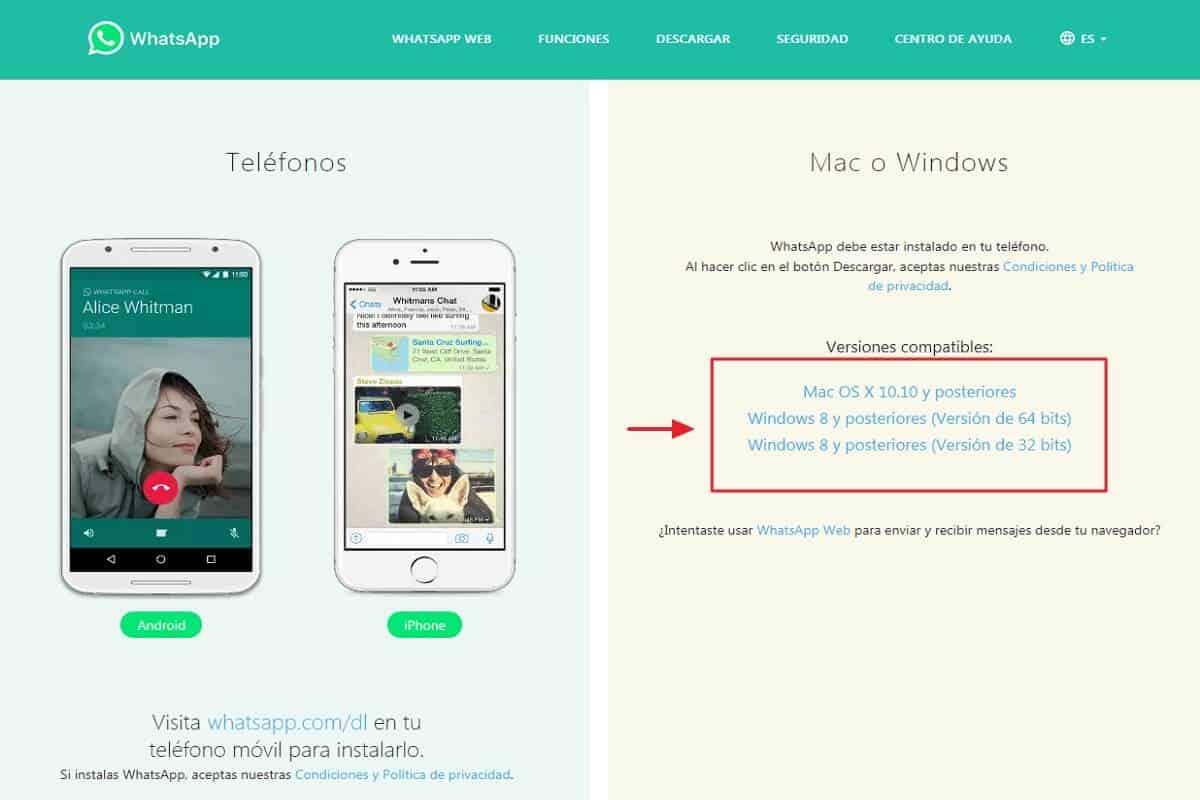 Cómo instalar WhatsApp en PC - Descargar WhatsApp para PC- paso 1