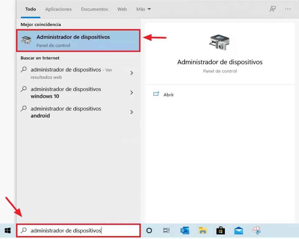 Cómo saber si mi PC tiene Bluetooth - Computadoras con Windows 10 - paso 1