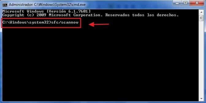 Error 0xc0000142 - Método 2 - paso 2